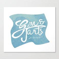 Gin & Tarts Canvas Print