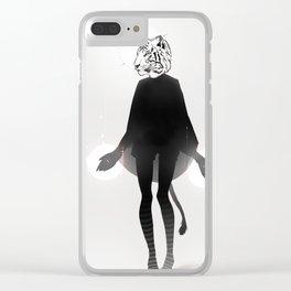 虎 Clear iPhone Case