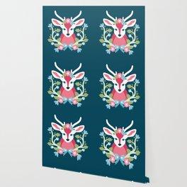 Baltimore Woods Deer Wallpaper