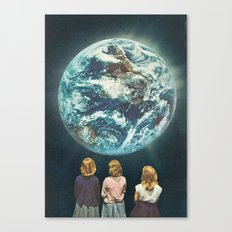 Full Earth () Canvas Print