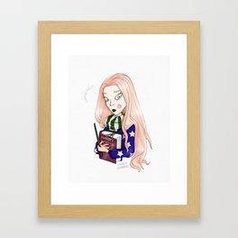 El Libro Mágico Framed Art Print