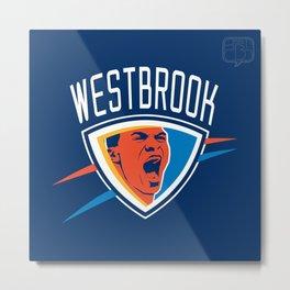 Russell Westbrook Metal Print