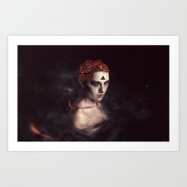orgasm / luminescent series Art Print