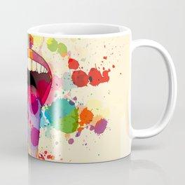 Color Tasting Coffee Mug