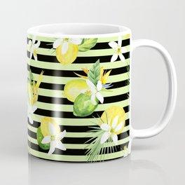 watercolor seamless pattern fresh summer Coffee Mug