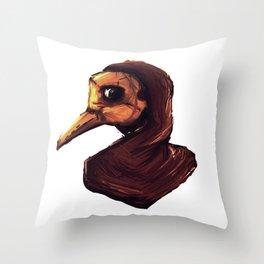 Renaissance Reaper Throw Pillow