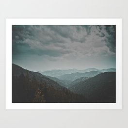 Wander forever my love (nature) Art Print