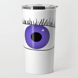 Eye doodle Travel Mug