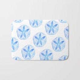 Mermaid Currency - Blue Sand Dollar Bath Mat