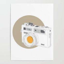 Yashica Electro 35 GSN Camera Poster