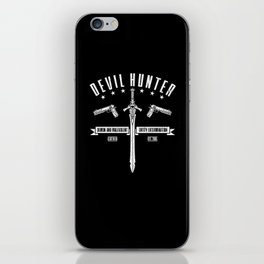 Devil Hunter iPhone Skin