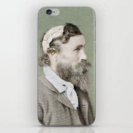 Robert McGee Scalping Survivor c.1890 - Colourised iPhone Skin