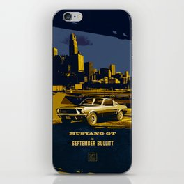 September Bullitt iPhone Skin