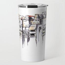 Naxos Houses Travel Mug