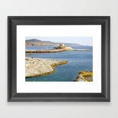 Bay of Sardinia - Italy Framed Art Print