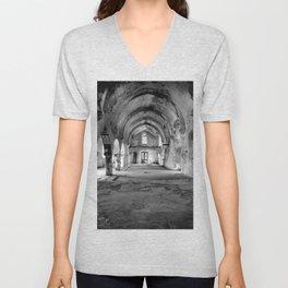 Derelict Cypriot Church. Unisex V-Neck