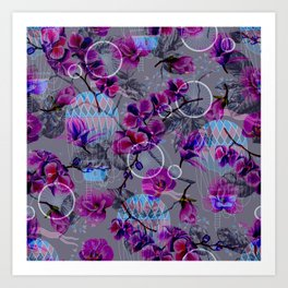 purple bv Art Print