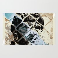 jack nicholson Area & Throw Rugs featuring Jack Nicholson by ARTito
