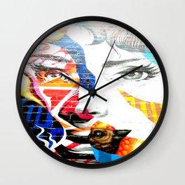 No Ordinary Audrey  Wall Clock