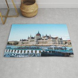 Cityscape of Budapest Rug