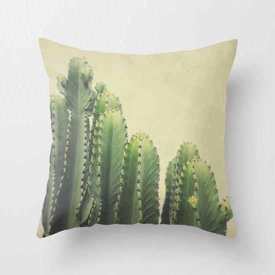 Cactus Throw Pillow