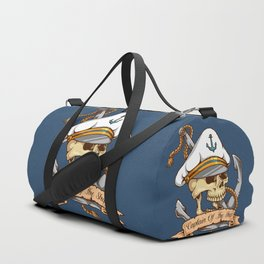 Captain of the Ship Duffle Bag