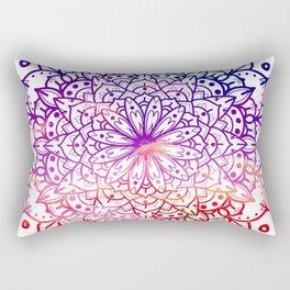 INTENSE SUNSET MANDALA Rectangular Pillow