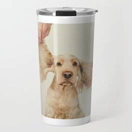 The bigger the ears the better the friend Travel Mug