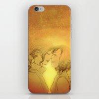 korrasami iPhone & iPod Skins featuring Korrasami by IrisPencil