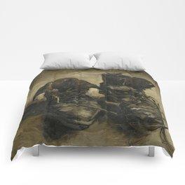 Vincent van Gogh - Boots Comforters
