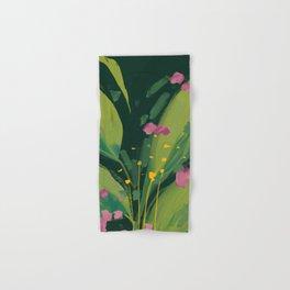 night bloom Hand & Bath Towel