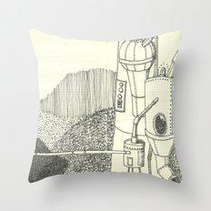 cementera Throw Pillow