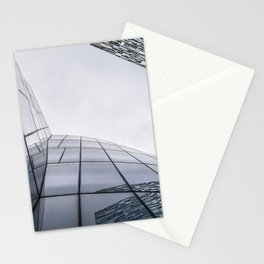 Modern architecture buildings in New York City Stationery Cards