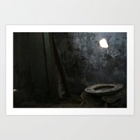 toilet Art Prints featuring Toilet? by RCKennerly Photography