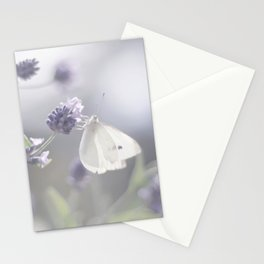 Lavender loving butterfly Stationery Cards