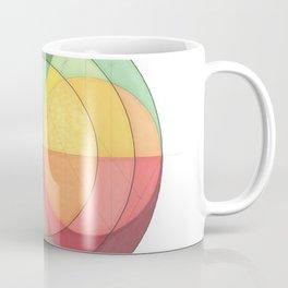 Concentric Circles Forming Equal Areas Coffee Mug
