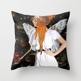 Samael Throw Pillow