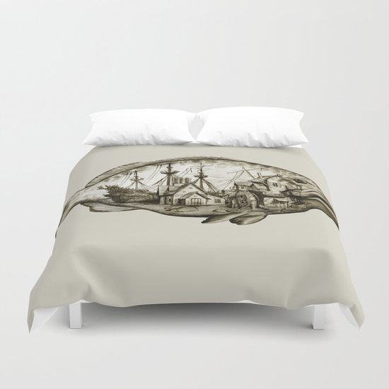 fish Duvet Cover