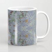 marijuana Mugs featuring Marijuana print  by Kim Barton