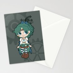 Steampunk Sailor Neptune - Sailor Moon Stationery Cards