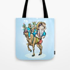 A One Piece Tony Tony Chopper Christmas Tote Bag
