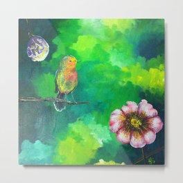 Birdy Dreams Metal Print