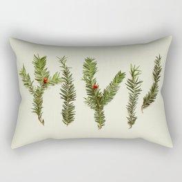 COMPOSIZIONE FOGLIE III Rectangular Pillow