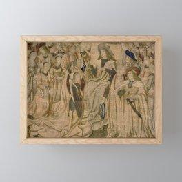 Ester Presented to Ahasuerus Framed Mini Art Print