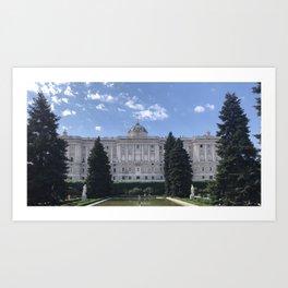 Palacio Royal Art Print
