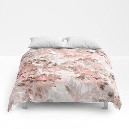 Blush Pink Parsley Foliage Comforters