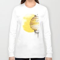 lantern Long Sleeve T-shirts featuring Lantern by Emma Stein