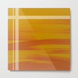 Sunset (Yellow) Metal Print