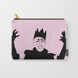Queen Sasha Velour Carry-All Pouch