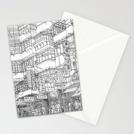 Hong Kong. Kowloon Walled City Stationery Cards